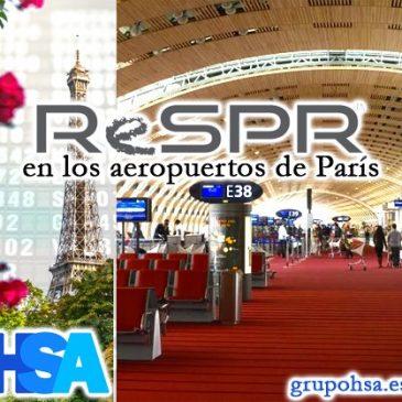 ReSPR en los aeropuertos de París